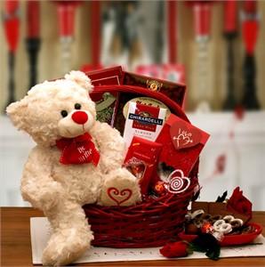 Say You'll Be Mine Valentine Gift Basket