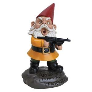 Scarface Garden Gnome