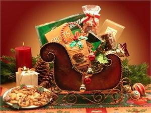 Season's Greetings Small Holiday Sleigh