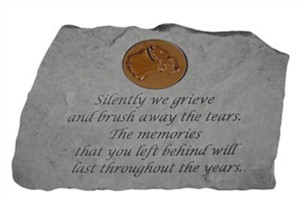 Silently we grieve…with Angel Memorial Stone