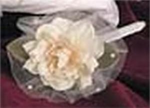 Pink Rose Silk Organza Blush Rose Guest Pen