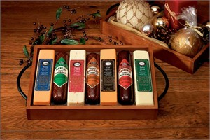 Simply Delicious Sausage & Cheese Gift Tray