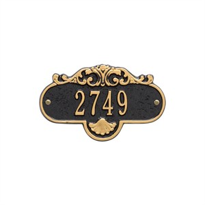 Personalized Small Rochelle Address Plaque - 1 Line