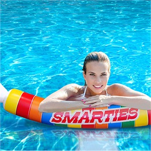 Smarties Noodle Pool Float