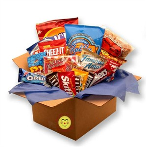 Snackdown Deluxe Snacks Care Package