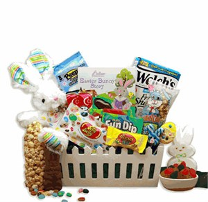Springtime Fun Easter Gift Basket