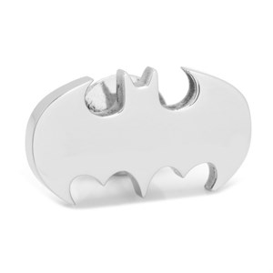 Stainless Steel Batman Lapel Pin
