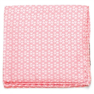 Star Wars Rebel Pink and White Pocket Square