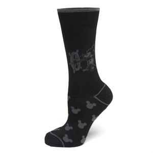 Steamboat Willie Black Socks