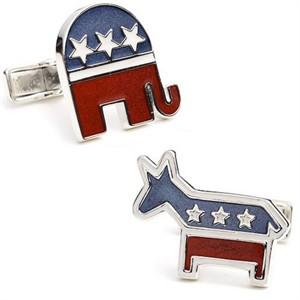 Sterling Bipartisan Cufflinks