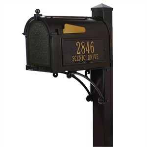 Personalized Superior Mailbox Package