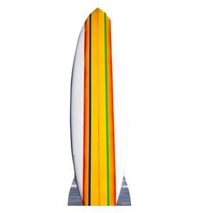 Surf Board Cardboard Cutout