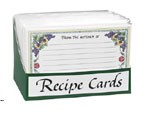 Recipe Cards Display