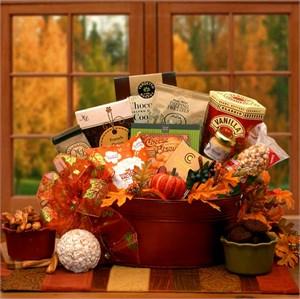 Tastes of Fall Gourmet Gift Basket