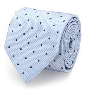 The Hector Tie (Blue Houndstooth Dot Men's Tie)