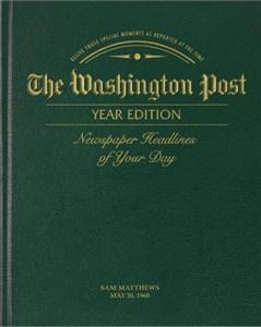 The Washington Post Classic Year Book