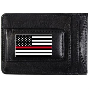 Thin Red Line Firefighter Wallet