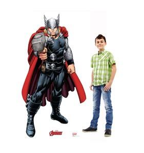 Thor Avengers Animated Cardboard Cutout
