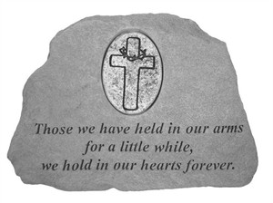 Those we have…with Oval Cross Memorial Stone