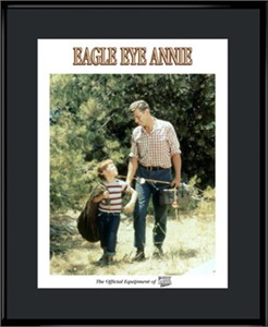 """Andy Griffith Show Lithograph - """"Eagle Eye Annie"""""""