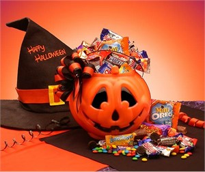 Trick or Treat Halloween Goodies Pail