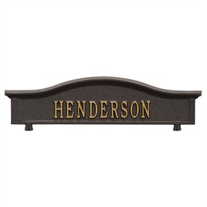 Personalized Two Sided Mailbox Topper