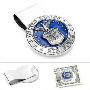 US Airforce Pewter Money Clip