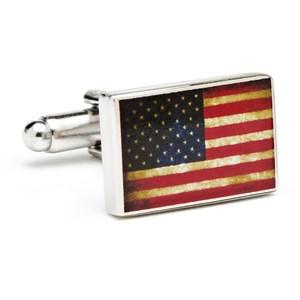 Vintage USA Flag Cufflinks