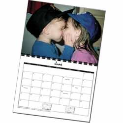 Personalized Photo Calendar <br>1 Photo Calendar