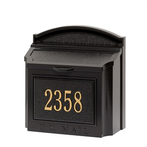 Personalized Wall Mailbox Package