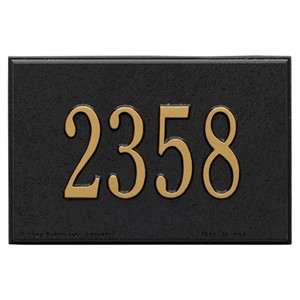 Personalized Wall Mailbox Plaque