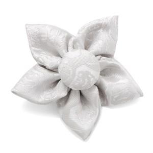 White Stormtrooper Vader Star Lapel Flower