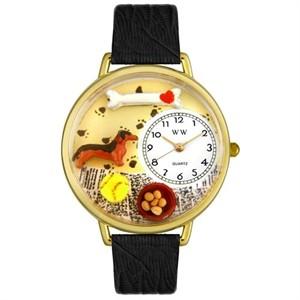 Personalized Dachshund Unisex Watch