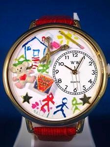 Personalized Preschool Teacher Unisex Watch