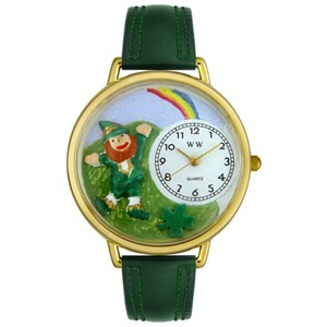 Personalized St. Patrick's Day Rainbow Unisex Watch