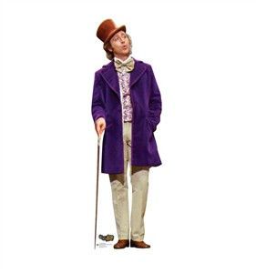 Willy Wonka Willy Wonka & the Chocolate Factory Cardboard Cutout