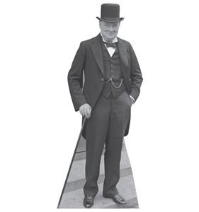 Winston Churchill 1929 Cardboard Cutout