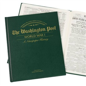 WP World War 1 Green Leatherette Book