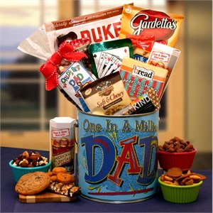 You're One in a Million Dad Premium Gift Pail