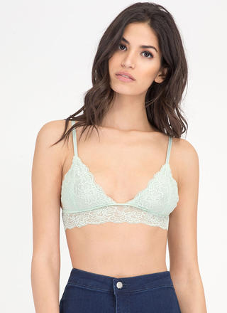 Feminine Flair Lace Bralette