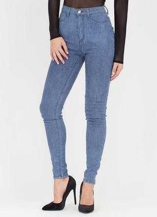 Simple As That High-Waisted Jeans
