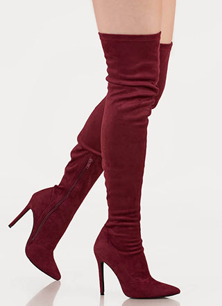Long Story Chic Thigh-High Boots
