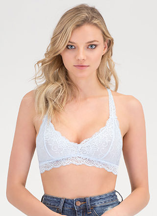 Romantic Setting Lace Bralette
