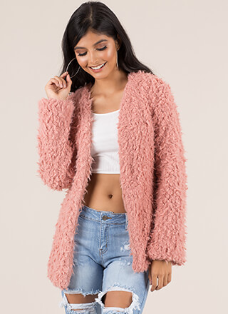 Fur Example Fluffy Jacket