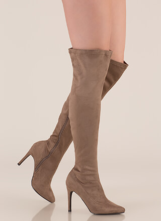 f322494d5d2 Smooth Trip Over-The-Knee Boots