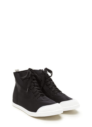 New School High-Top Sneakers