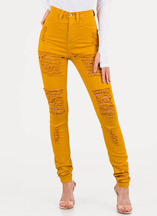 Shred-y To Rock Skinny Jeans