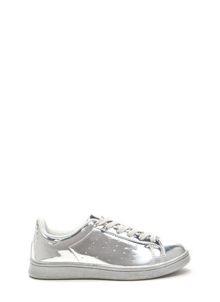 Sole Seeker Metallic Sneakers