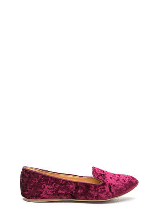 Velvet Vixen Smoking Loafers