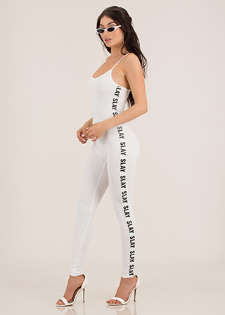 Slay It Again Graphic Full Bodysuit